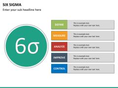 Six sigma PPT slide 24