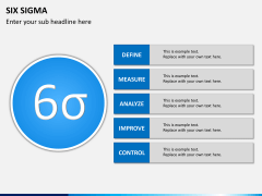 Six sigma PPT slide 12