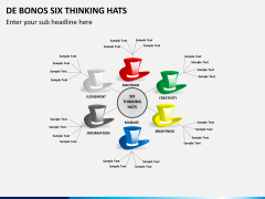 De bonos six thinking hats PPT slide 2
