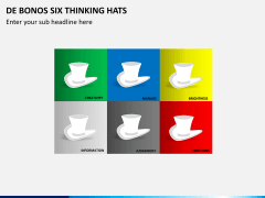 De bonos six thinking hats PPT slide 4