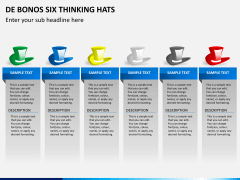 De bonos six thinking hats PPT slide 5
