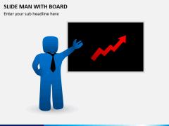 Slide man with board PPT slide 6
