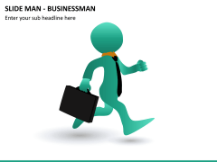 Slide man business PPT slide 7