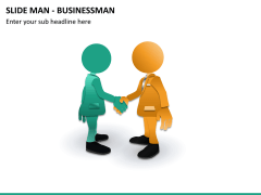 Slide man business PPT slide 8