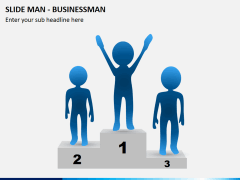 Slide man business PPT slide 4