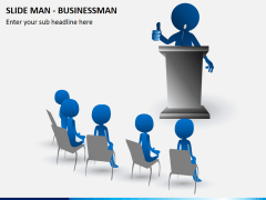 Slide man business PPT slide 6