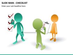 Slide man checklist PPT slide 6