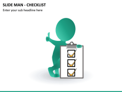 Slide man checklist PPT slide 7