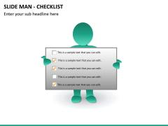 Slide man checklist PPT slide 10