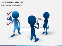 Slide man checklist PPT slide 1
