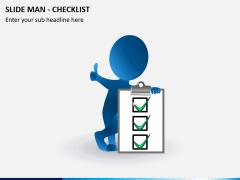 Slide man checklist PPT slide 2