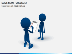 Slide man checklist PPT slide 3