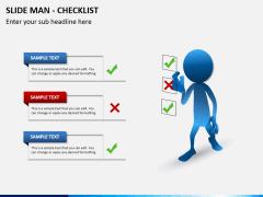 Slide man checklist PPT slide 4