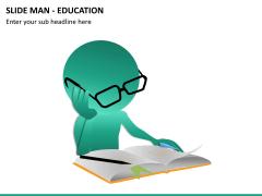 Slide man education PPT slide 6