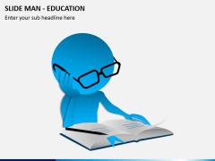 Slide man education PPT slide 2