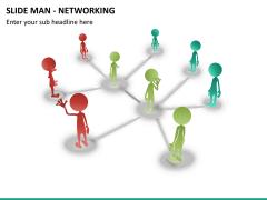 Slide man networking PPT slide 6
