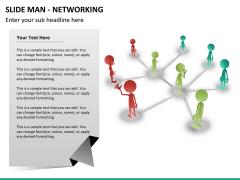 Slide man networking PPT slide 8