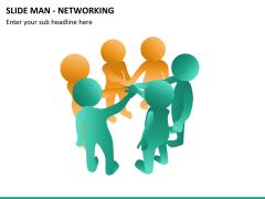 Slide man networking PPT slide 9