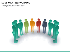 Slide man networking PPT slide 10