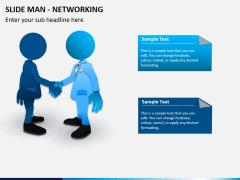 Slide man networking PPT slide 2