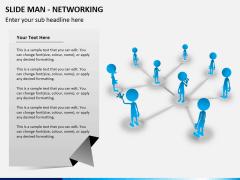 Slide man networking PPT slide 3