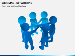 Slide man networking PPT slide 4