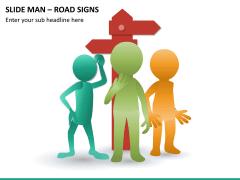Slide man road signs PPT slide 7