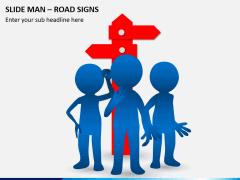 Slide man road signs PPT slide 2