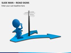 Slide man road signs PPT slide 3