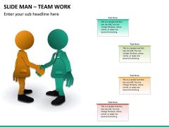 Slide man teamwork PPT slide 5