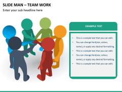 Slide man teamwork PPT slide 6