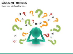 Slide man thinking PPT slide 8