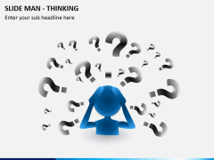 Slide man thinking PPT slide 4