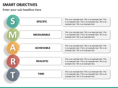 Smart objectives PPT slide 23