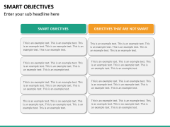 Smart objectives PPT slide 24