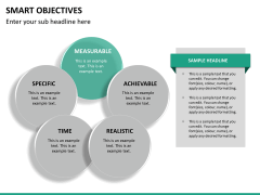 Smart objectives PPT slide 18