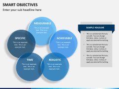 Smart objectives PPT slide 10