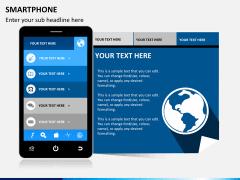 Smartphone PPT slide 4