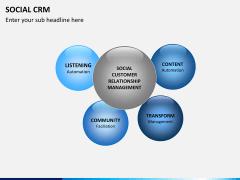 Social CRM PPT slide 7