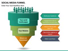 Social Media Funnel PPT slide 15