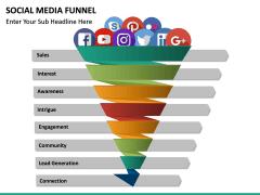 Social Media Funnel PPT slide 16