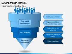 Social Media Funnel PPT slide 1
