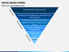 Social Media Funnel PPT slide 10
