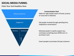 Social Media Funnel PPT slide 12