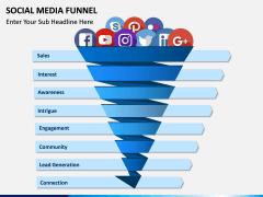Social Media Funnel PPT slide 2