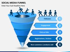 Social Media Funnel PPT slide 4