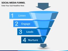 Social Media Funnel PPT slide 5