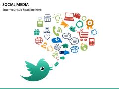 Social media PPT slide 20