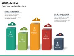Social media PPT slide 21