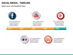 Social media PPT slide 22